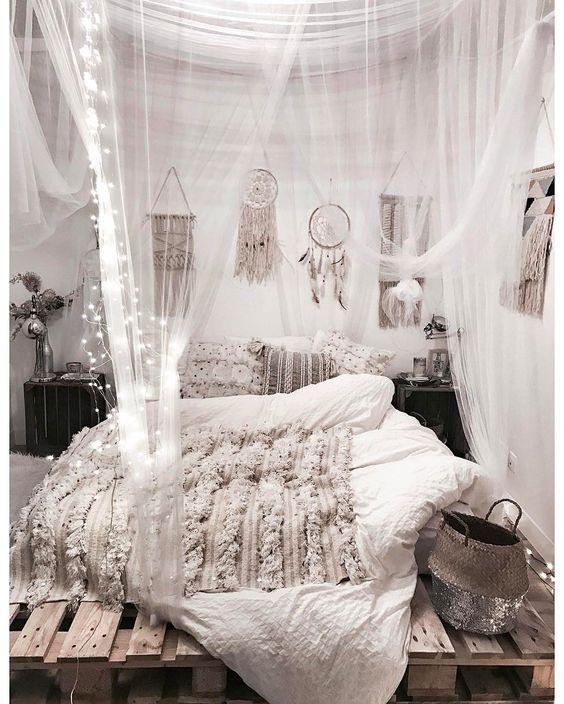 Photo of Idee per decorare camerette con pelliccia sintetica, cuscini, arazzi, luci …