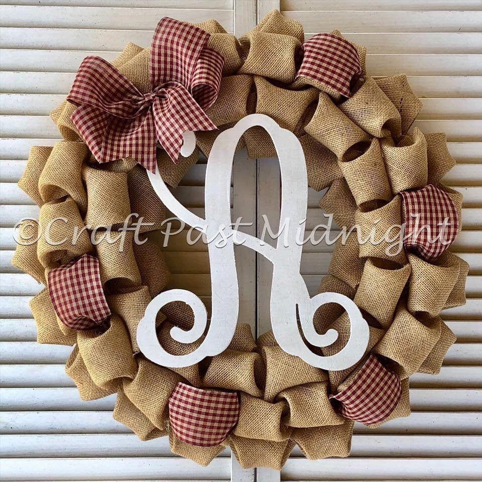 Burgundy Burlap Wreath - Merlot Burlap Wreath - Primitive Burlap Wreath - Primitive Home Deco..., #Burgundy #Burlap #Deco #Home #Merlot #Primitive #Wreath