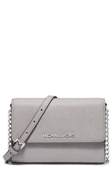851580df6f86  Nordstrom MICHAEL Michael Kors  Large Jet Set  Saffiano Leather Crossbody  Bag