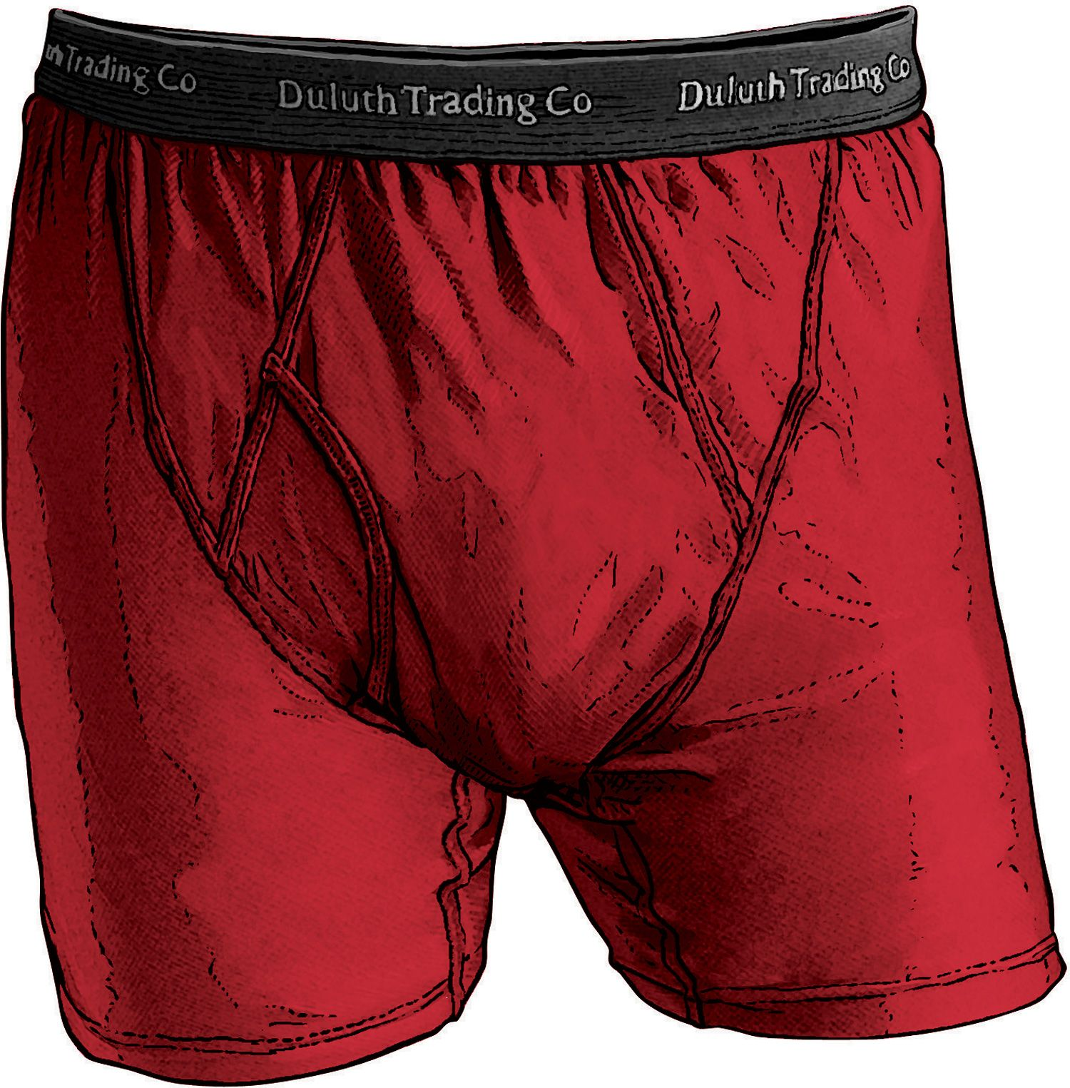 MEN'S BUCK NAKED PERFORMANCE BOXER BRIEFS http://www.duluthtrading.com/