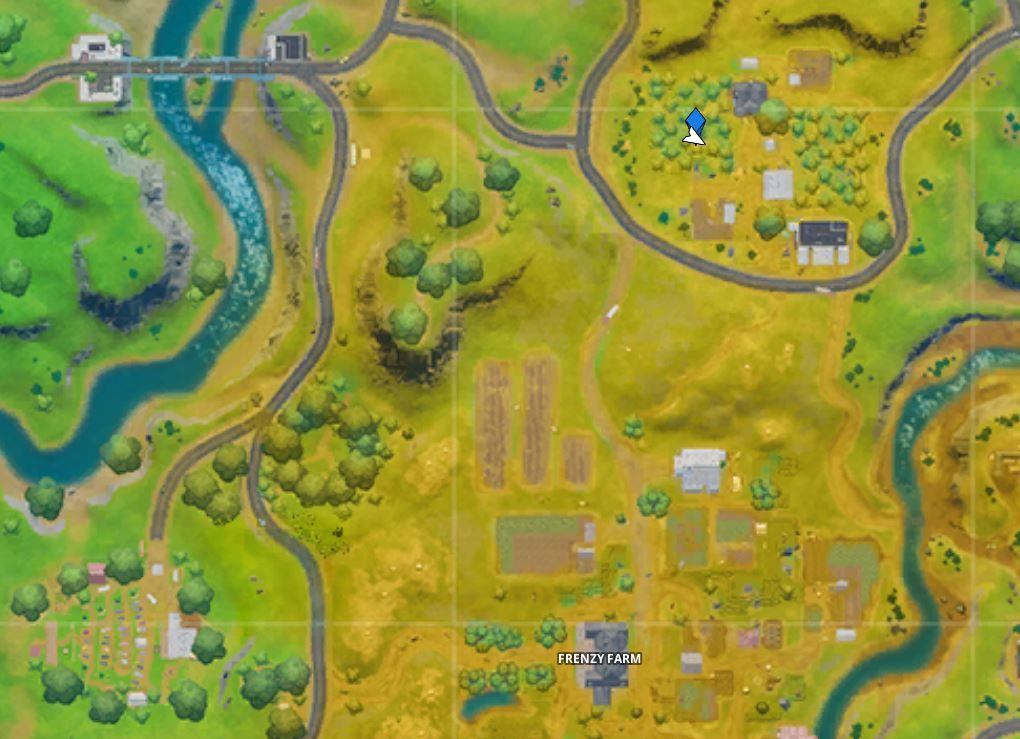 Fortnite The Orchard Location Where To Consume Foraged Apples At