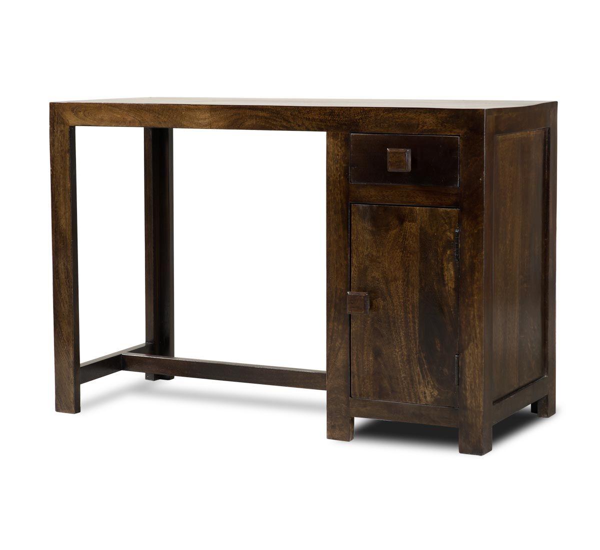 Dakota Dark Mango Medium Computer Desk Wood Computer Desk Desk Computer Desk [ 1101 x 1200 Pixel ]