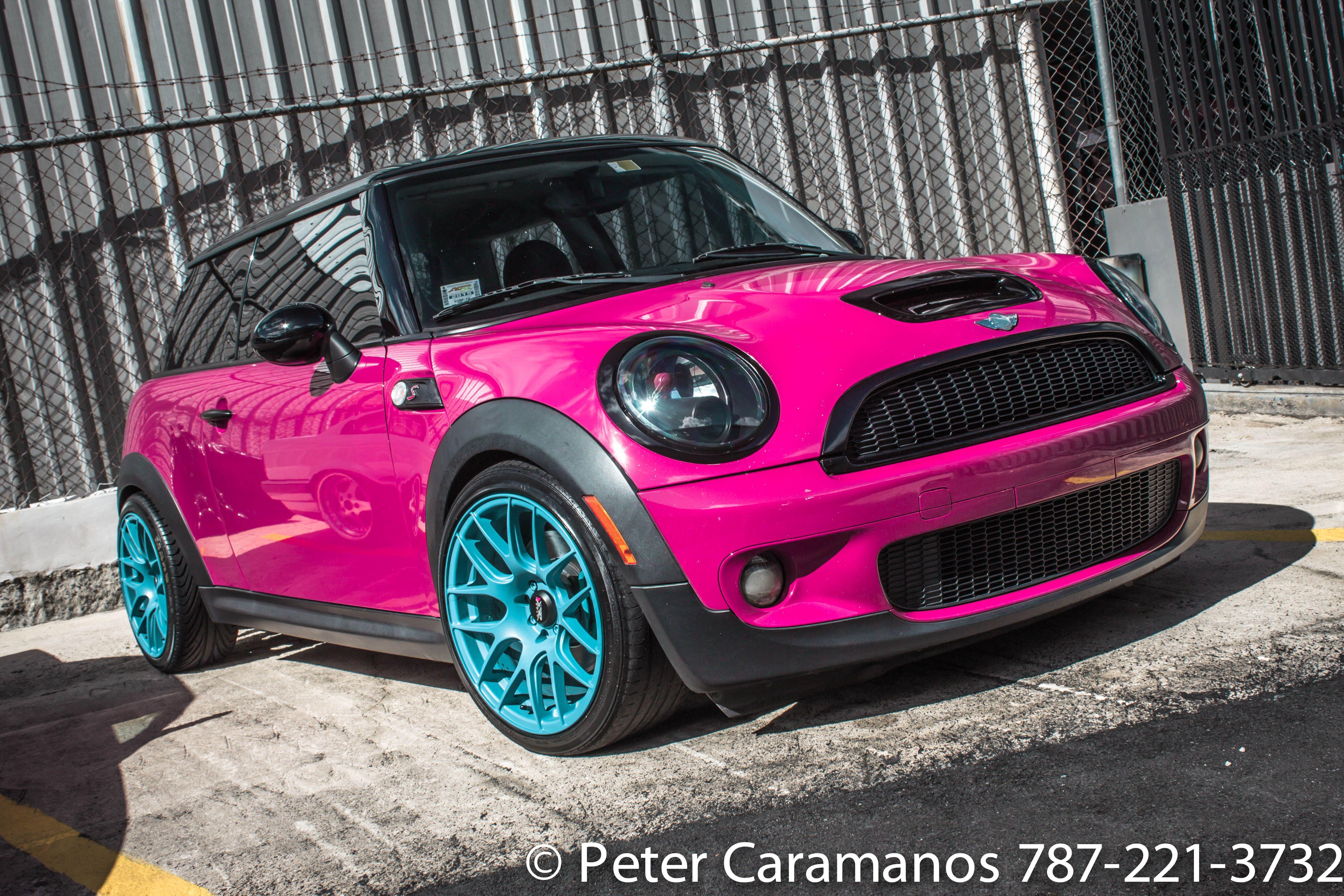 Pink Mini Cooper By Caramanos2000 On Deviantart Convertible Mini Cooper Convertible Pink Mini Coopers Mini Cooper Mini Cooper Custom