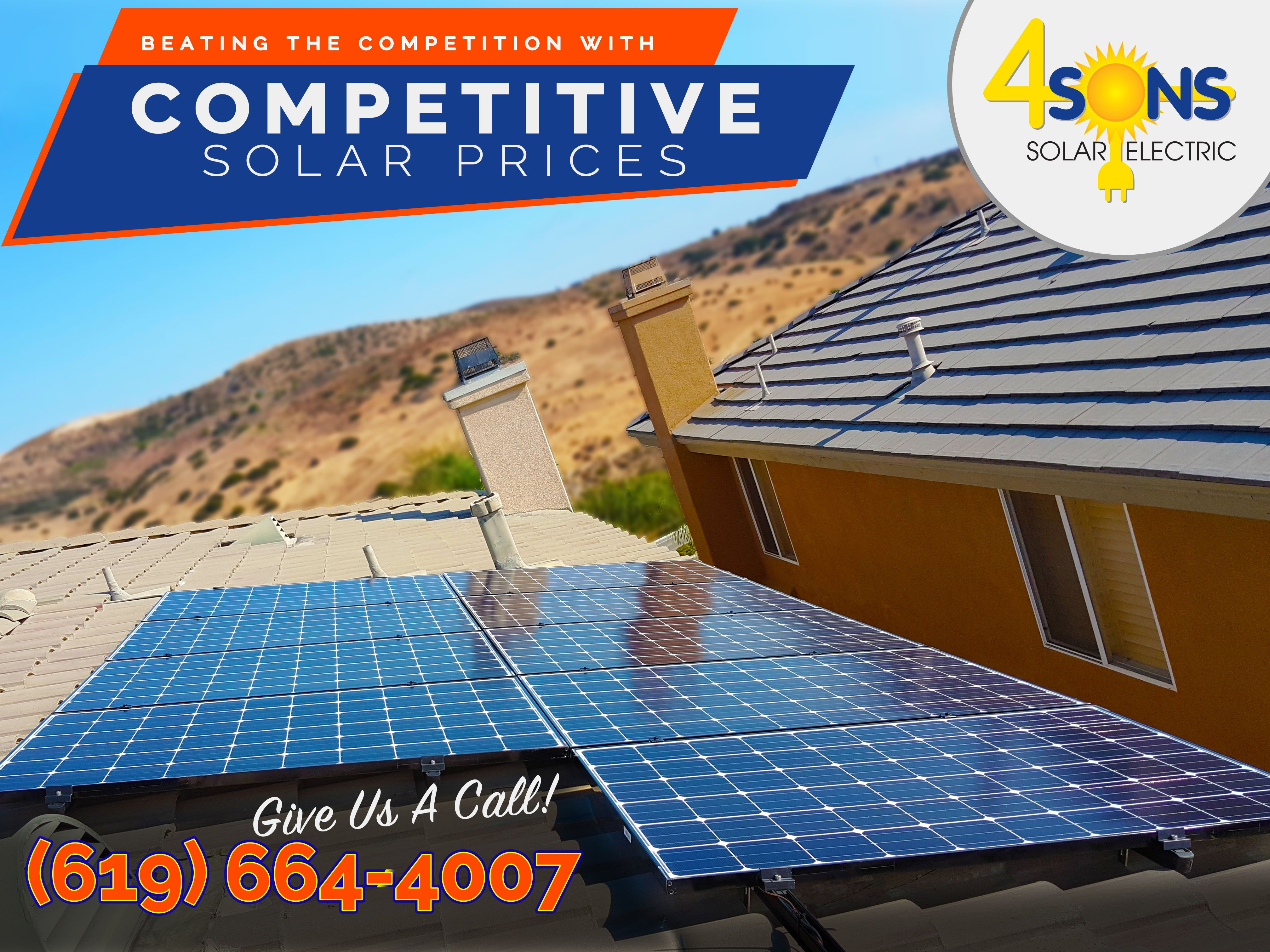 Pin By 4 Sons Solar Electric Inc On San Diego Solar Roof Solar Panel Solar Panels Outdoor Decor