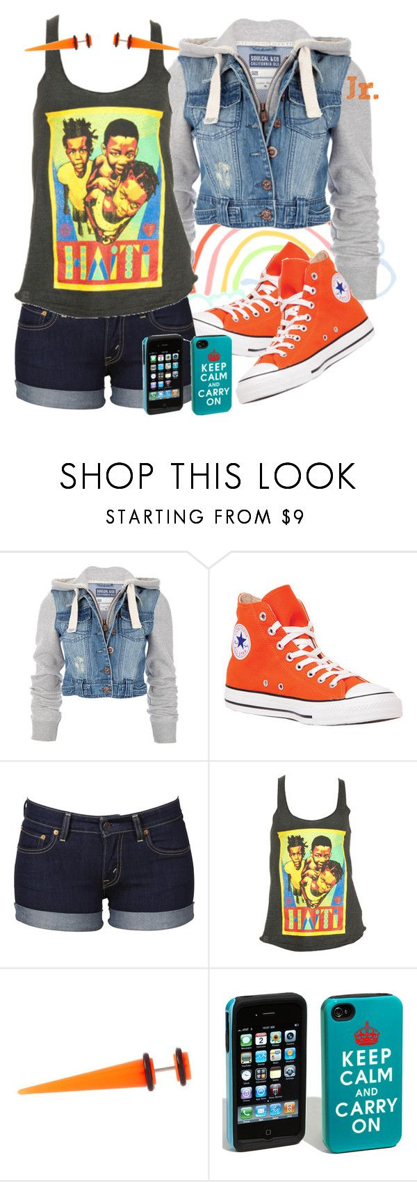 Haiti's Child. by firstbornunicorn on Polyvore featuring OBEY Clothing, Soul Cal, Levi's, Converse, ASOS and Case-Mate