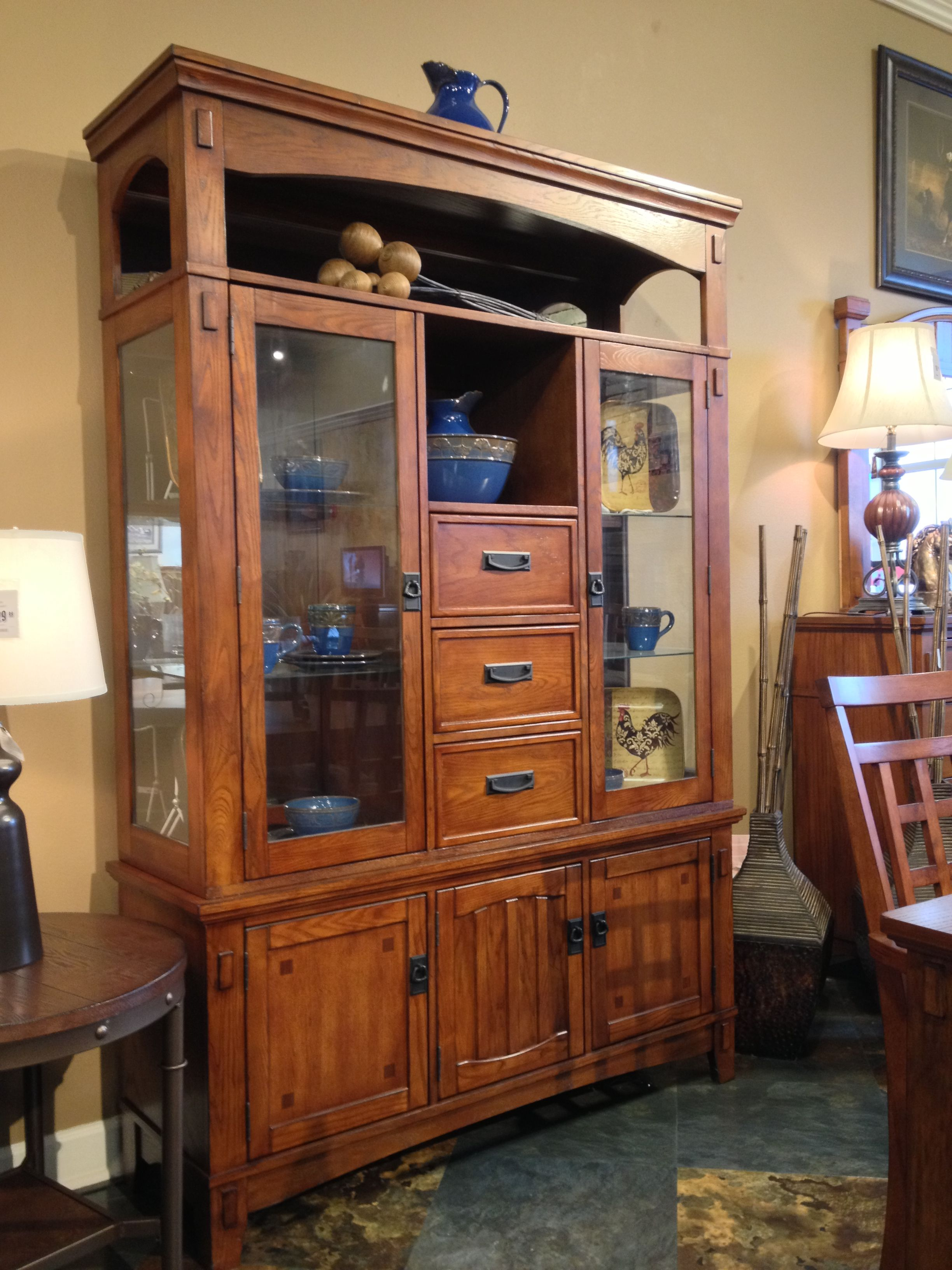 Cross Island Buffet And Hutch At Ashley Furniture In