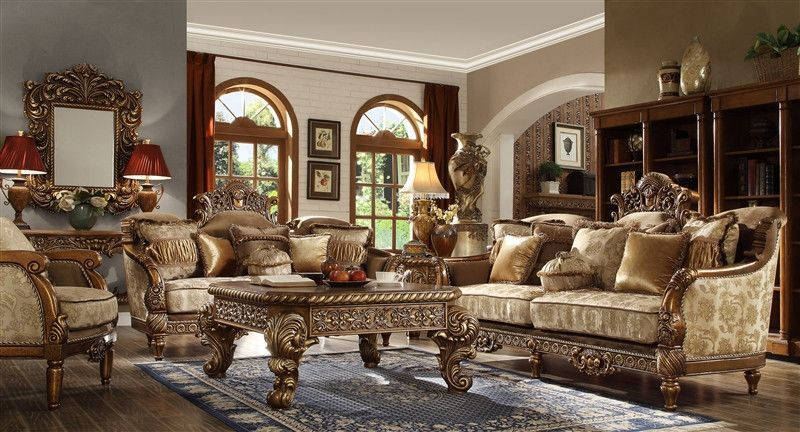 2 Piece Traditional Hd 272 Living Room Set Living Room Sets Elegant Living Room Victorian Style Sofas #victorian #style #living #room #set