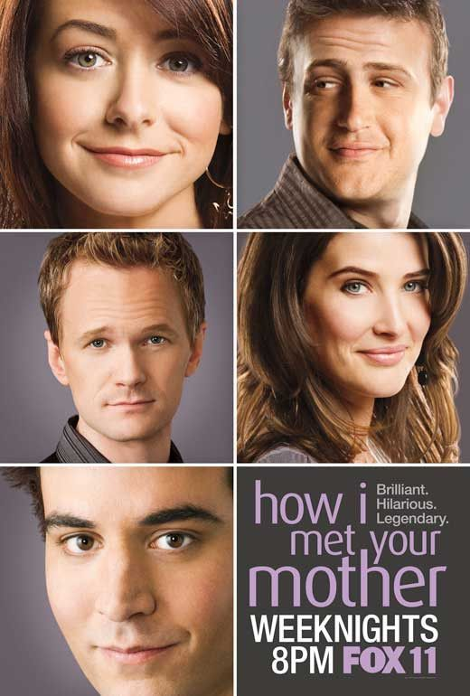 How I Met Your Mother 11x17 Tv Poster 2005 With Images How I