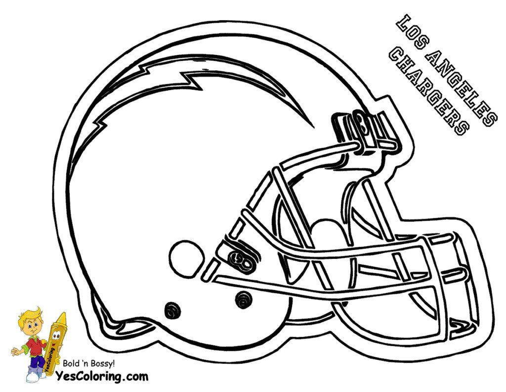 Football Player Coloring Pages Lovely New Nfl Logo ...