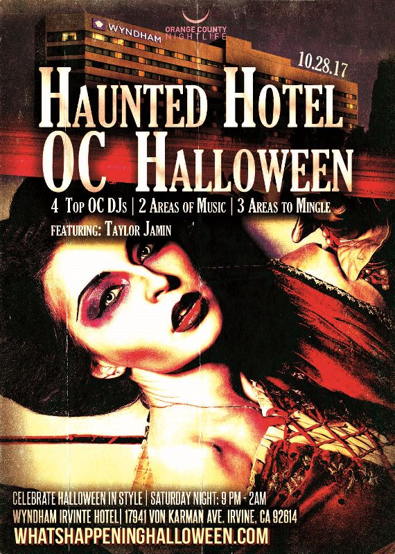 3rd Annual The Haunted Oc Hotel Halloween Party Costume Ball