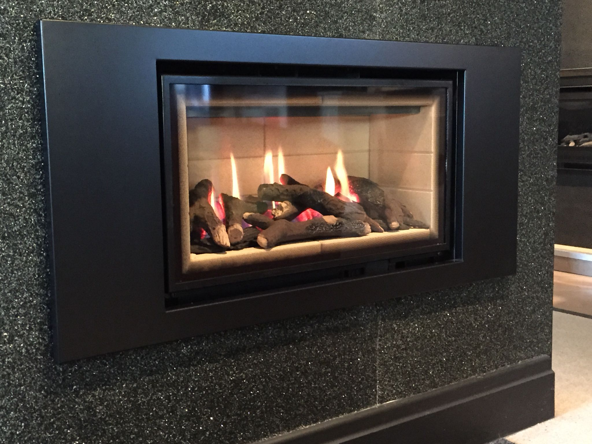 the ethos 750 landscape this is a very efficient modern gas fire