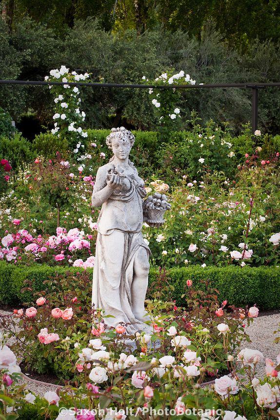 Garden Statues, Flower Garden Statues