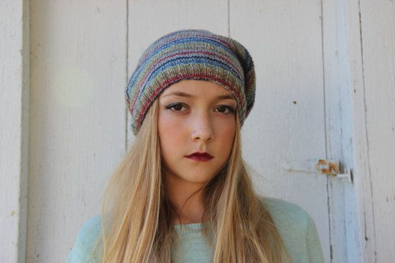 Slouchy Beanie by SerbyStitches on Etsy
