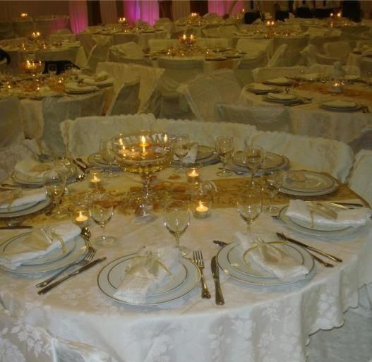 idee deco table mariage oriental