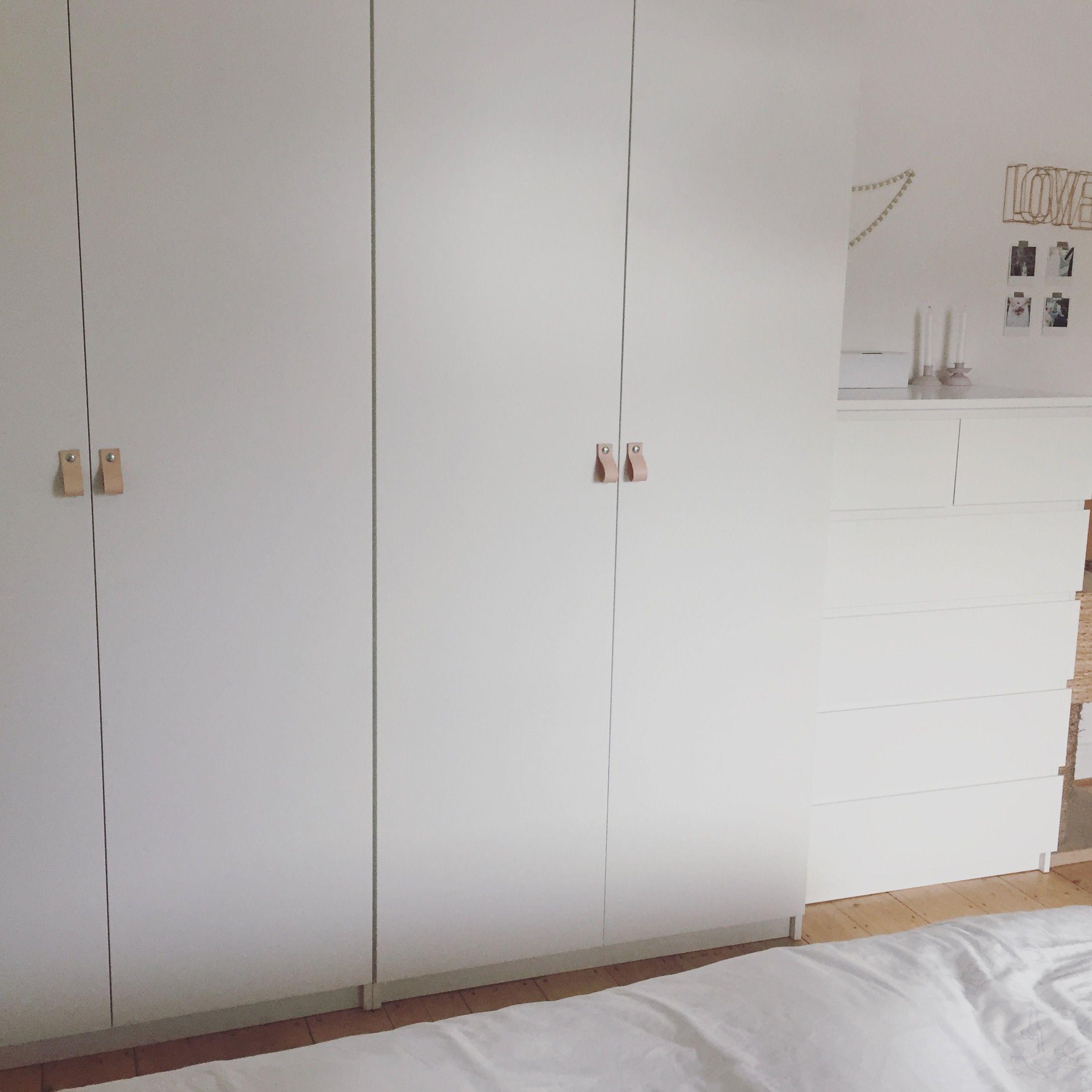 Ikea Pax Hack Ledergriffe Diy Leder Schlafzimmerrenovierung Ikea Ankleide Kleine Schlafzimmer Schranke
