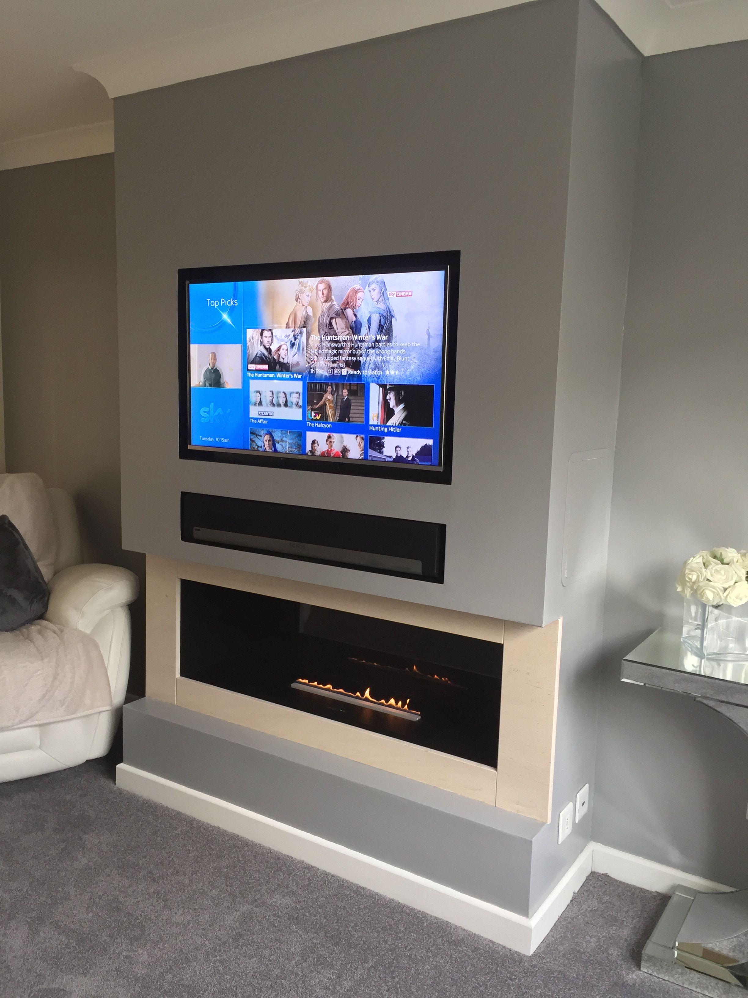 Pin By Nacho Figueroa On Tv Above Fireplace Fireplace Tv Wall Living Room Decor Fireplace Home Fireplace