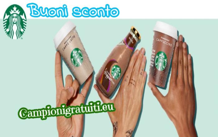 Buoni Sconto Starbucks offerti da UniversityBox