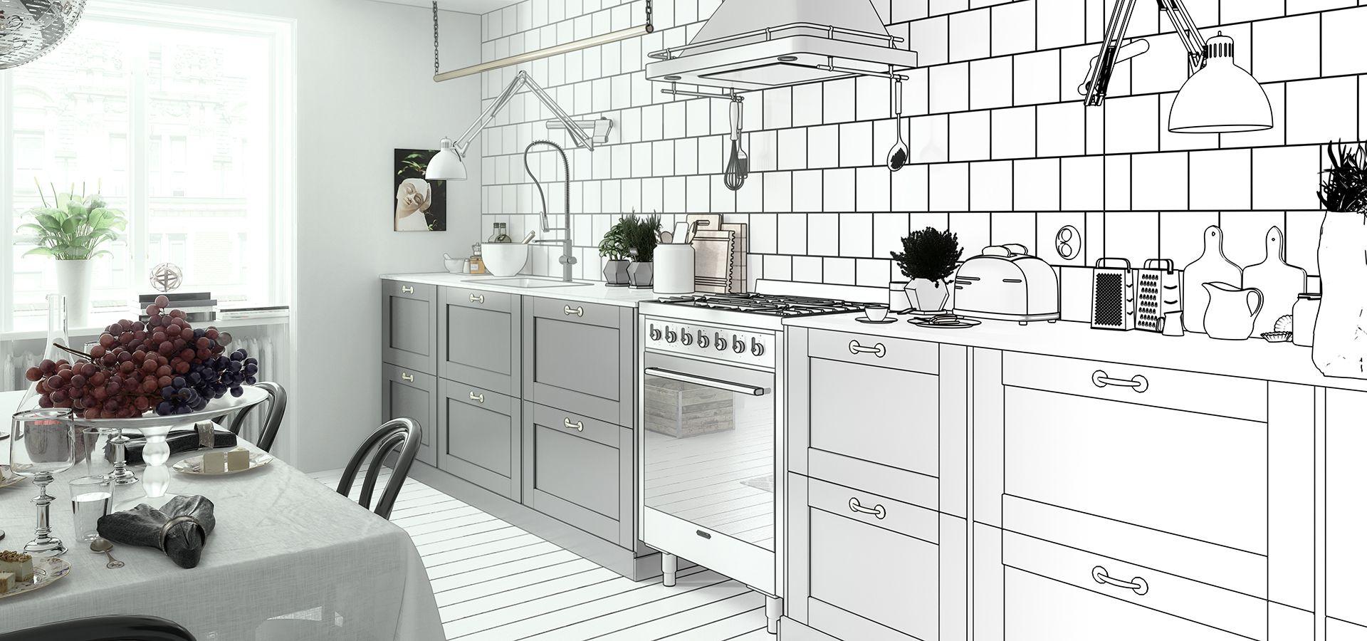 Küchenplaner & Konfigurator: Küche online selber planen in 20D in