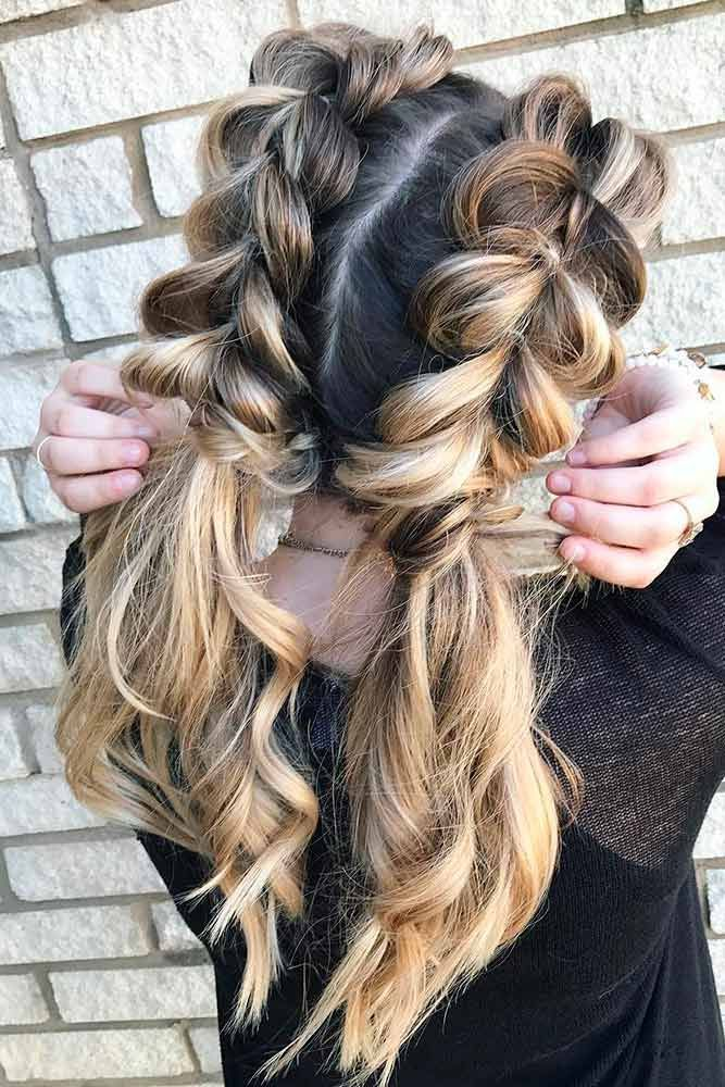 Cute Hairstyles for a First Date ☆ See more: http://glaminati.com ...