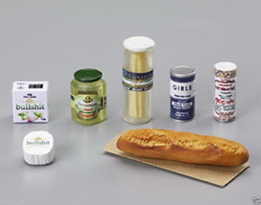 Fast Food Combo Set 2 Miniature Yummy Food