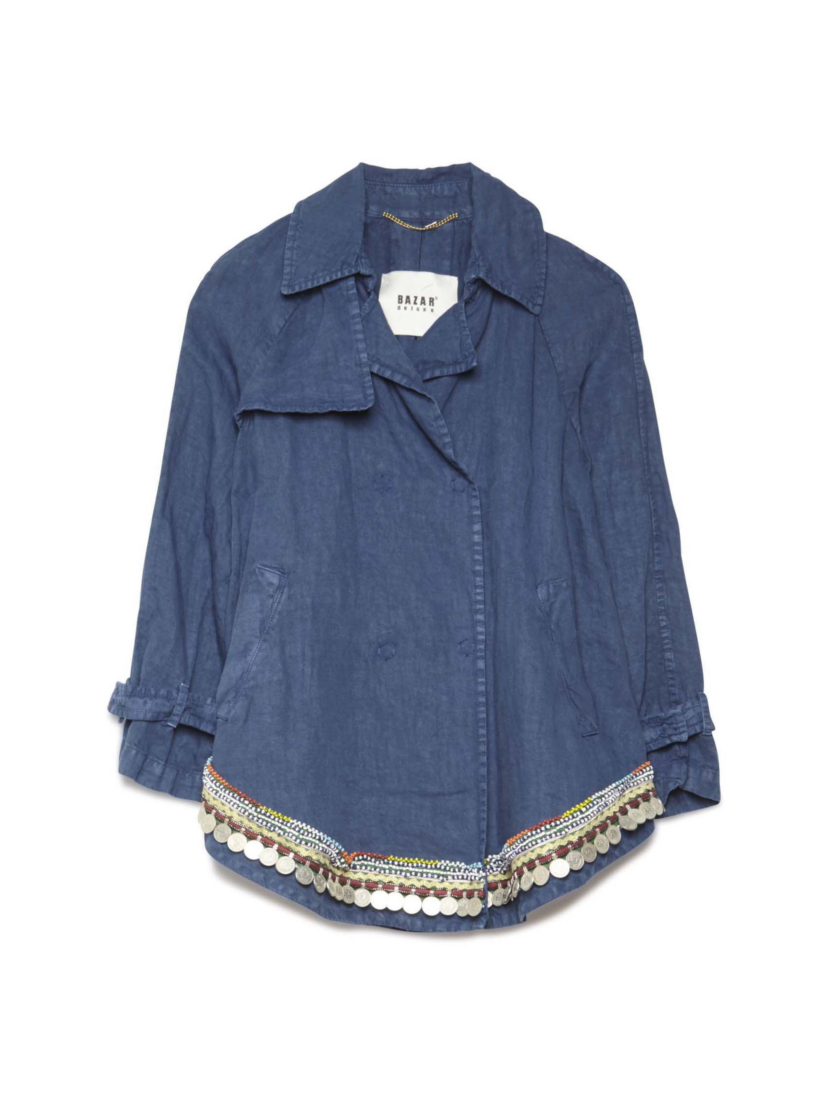 f35506d68b Bazar Deluxe Jacket Chambray Trench