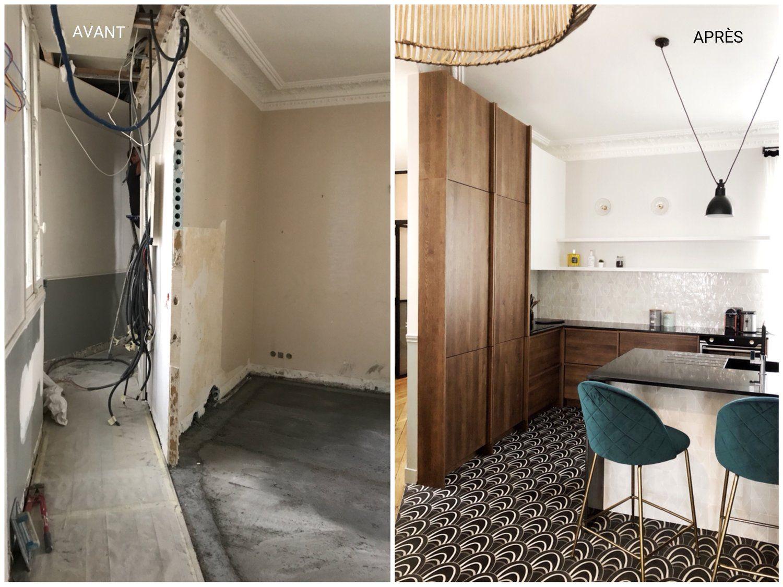 Relooking Maison Avant Apres designer d'intérieur | interieur design, décoration