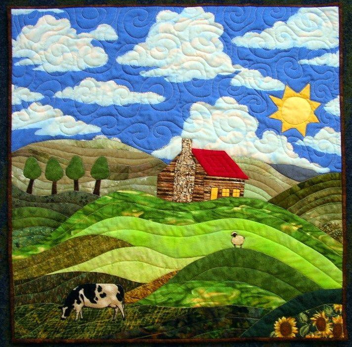 Landscape Applique Quilt Applique Designs Landscape