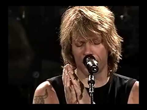Bon Jovi Something To Believe In Acoustic Minneapolis 2003 Bon Jovi Videos Jon Bon Jovi Bon Jovi Live