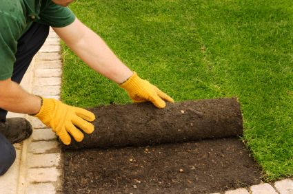 Make Your New Lawn Installation Quick And Easy Call The Professionals At P L Landscaping To Do It 603 How To Lay Turf Lawn Mowing Business Garden Services