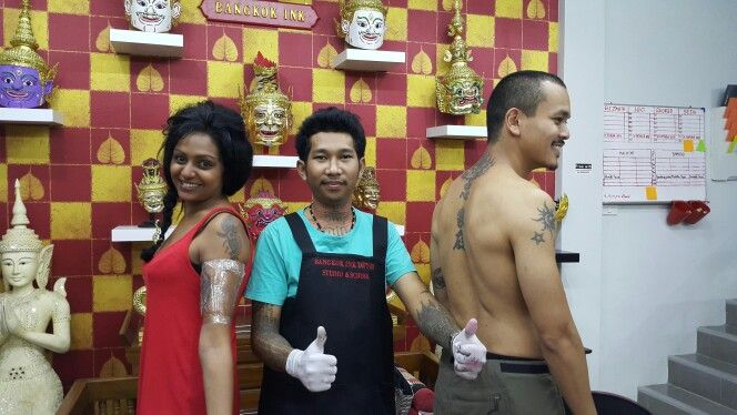 #bangkok ink tattoo#traditional Thai tattoo#