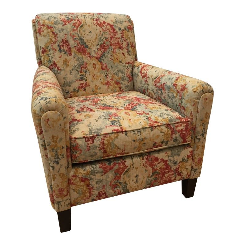Best Vintage Modern Bassett Ridgebury Accent Chair In 2020 400 x 300