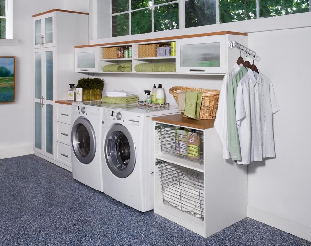 30 Tips To Build Effortless Laundry Room Designs Interiorsherpa Garage Laundry Rooms Laundry Room Organization Remodel Bedroom