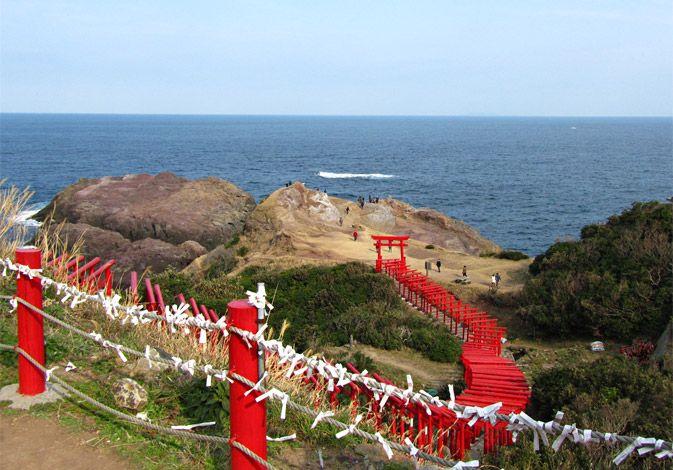 元乃隅稲成神社 山口県 Motonosumiinari Yanaguchi Japan