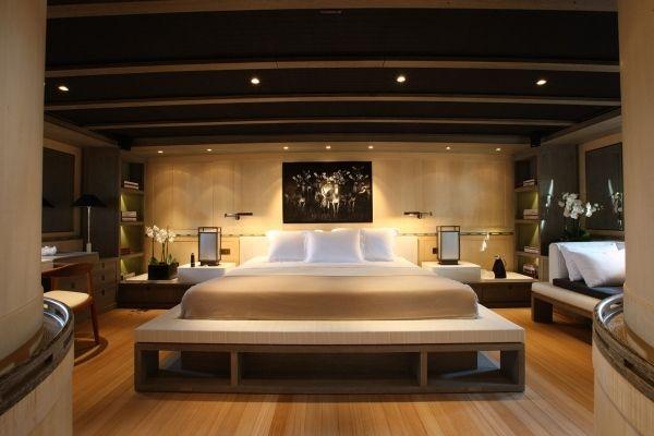 luxusyacht ROXANE akzentbeleuchung schalfzimmer  Yacht