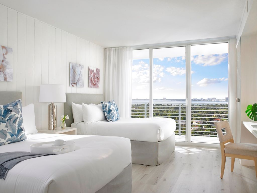 Double in comfort on your next @grandbeachmiami escape.  #gbhrooms #miamivacations #travel #roomgoals #comfort #hotellife . . . #miamibeach #hotel #hotelroom #miamivibes #miamilife #getaway #vacation #travel #miami #hotellife #comfort #relax #foundinmiami
