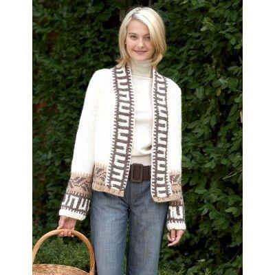 Navajo Cardigan Free Knitting Pattern from Bernat of ...