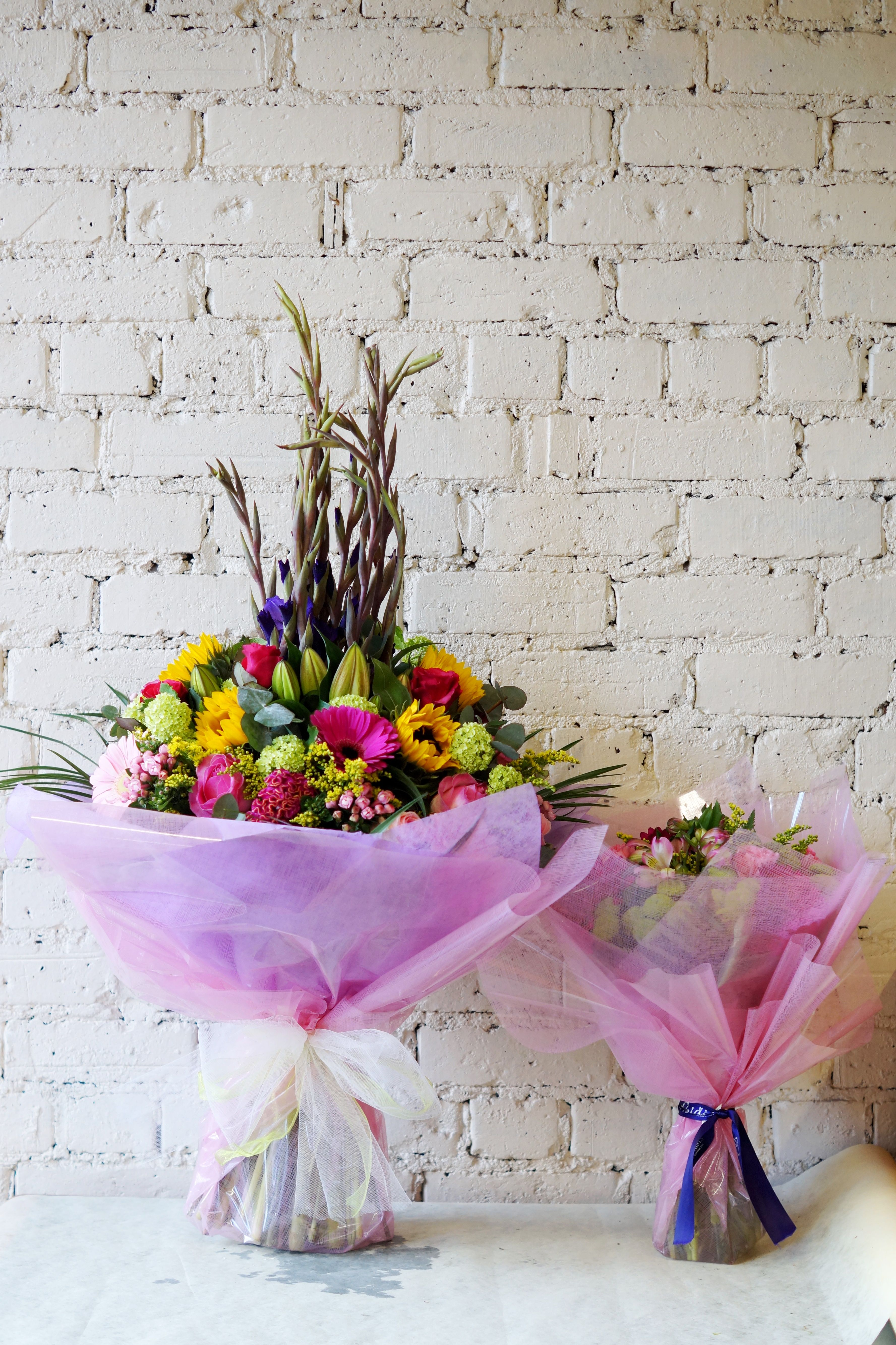 Check Out This Beautiful Beast Of A Bouquet That We Delivered