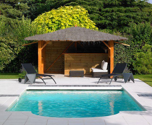 Photos d co id es d coration de carrelage de piscines for Decoration bord piscine