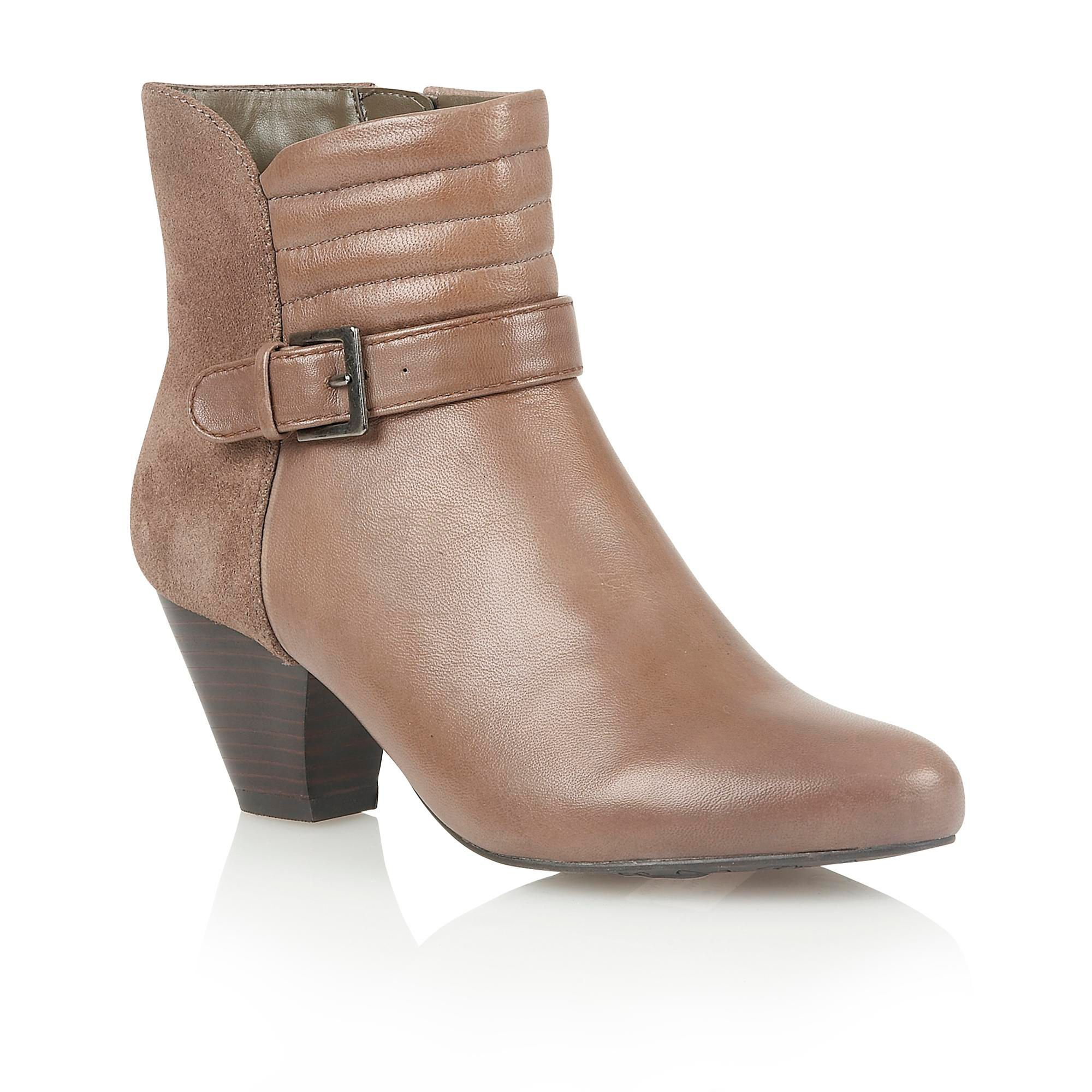 Lotus Maude ankle boots, Stone