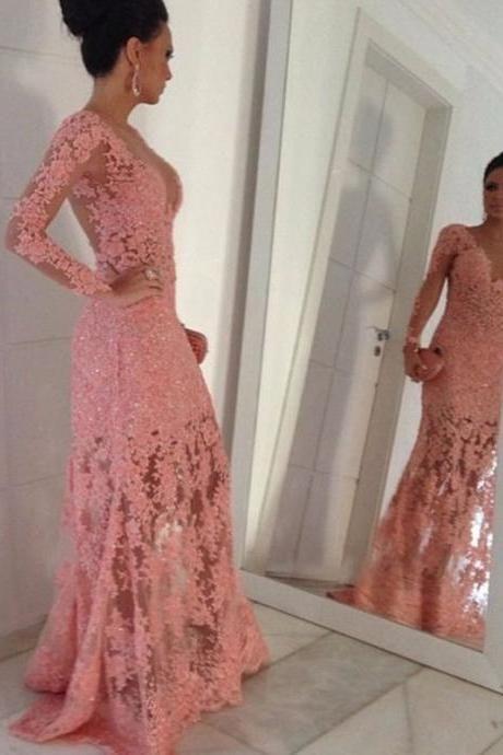 5ee873d7cce Elegant Pink Lace Pr...