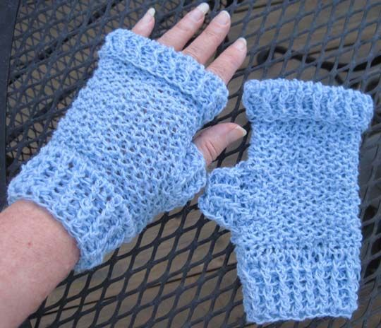Fingerless Mittens Gloves Free Crochet Pattern By Number 19