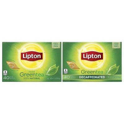 Photo of Lipton Decaffeinated Green Tea – 40ct