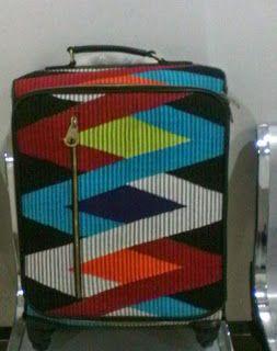 Batik Ria: Tas Koper Rang Rang Made By Order - IDR 1.300.000