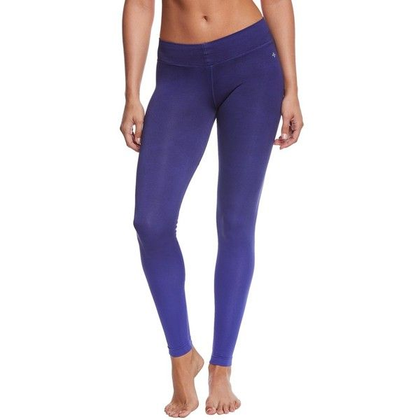 4e17b1bedf NUX Ombre V-Ankle Seamless Yoga Leggings ($82) ❤ liked on Polyvore  featuring activewear, activewear pants, yoga activewear, nux activewear,  logo sportswear ...