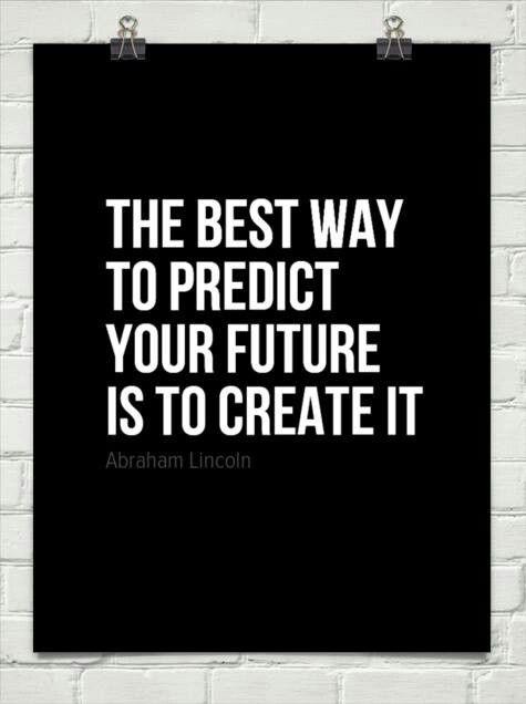 Creër je eigen toekomst