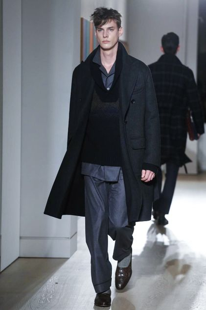 Dunhill Menswear Fall Winter 2015 London