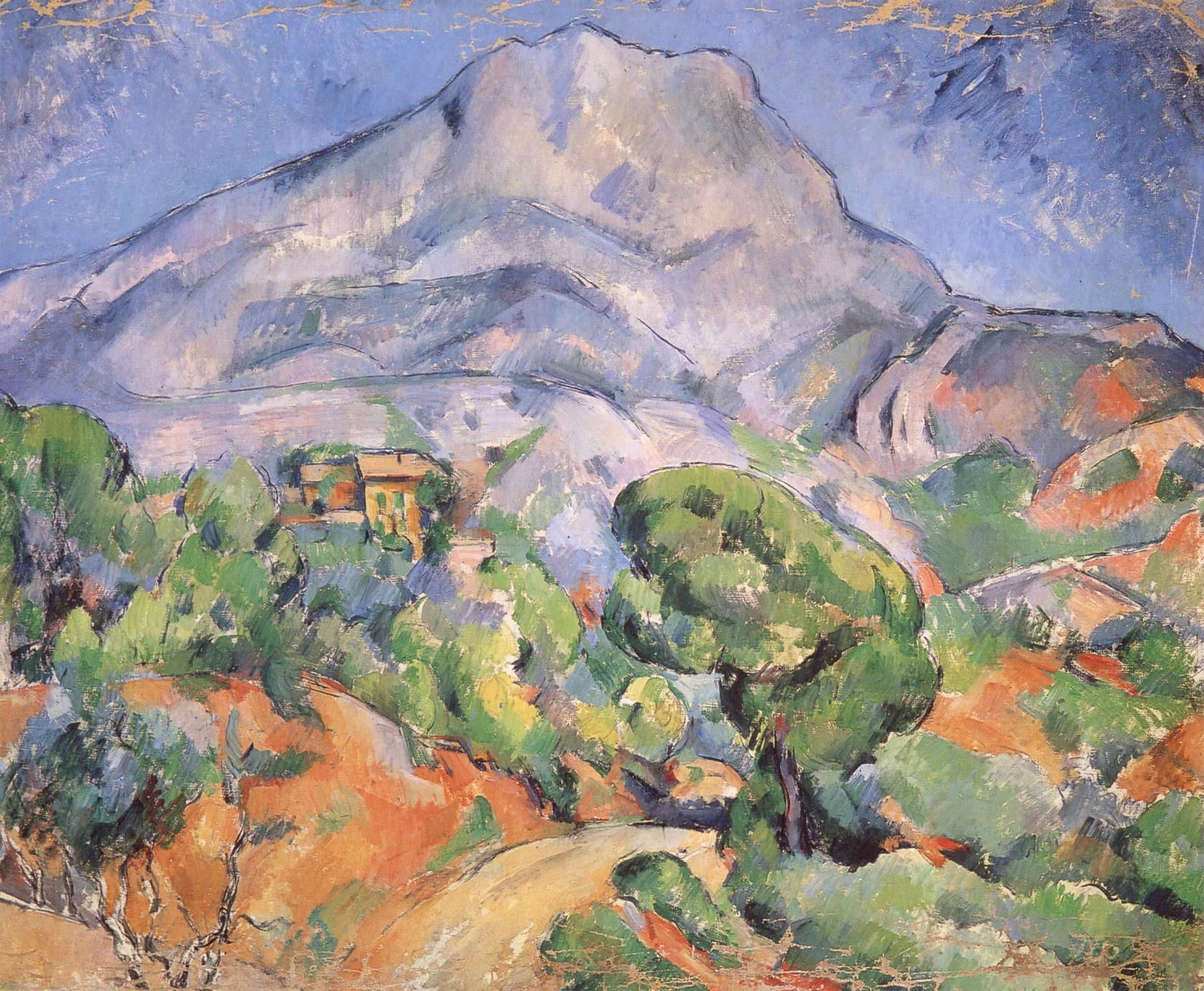 post impressionist art paul c233zanne � montsainte