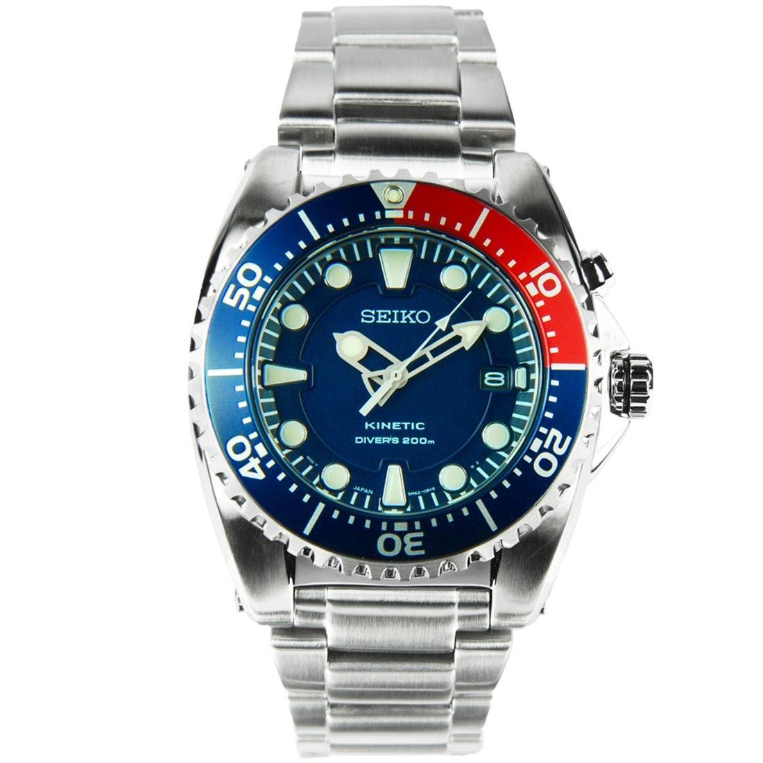 Seiko Kinetic Divers 200m Watch SKA369 SKA369P1 SKA369P ...