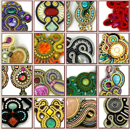 Pin di aushra abouzeid su metals gioielli soutache for Design di gioielli