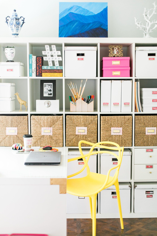 Lura Lumsden Craft Room Organization Tour DIY Projects Organize ...